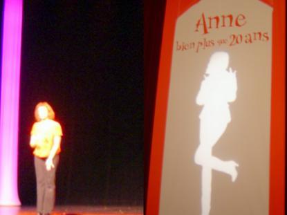 Anne Roumanoff et Bouzincourt