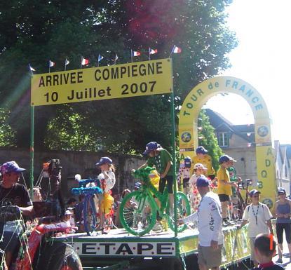 Compiègne : ville étape