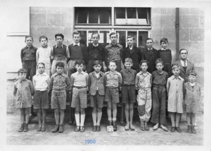 Ecole des garçons année 1950