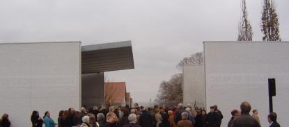 Entrée du Mémorial de Royallieu
