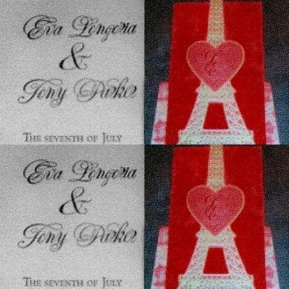 Eva Longoria et Tony Parker : Faire Part de Mariage