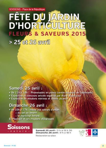 Fête du jardin d'horticulture 2015