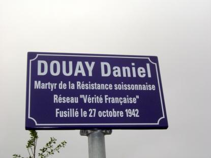 Inauguration de la rue Daniel Douay
