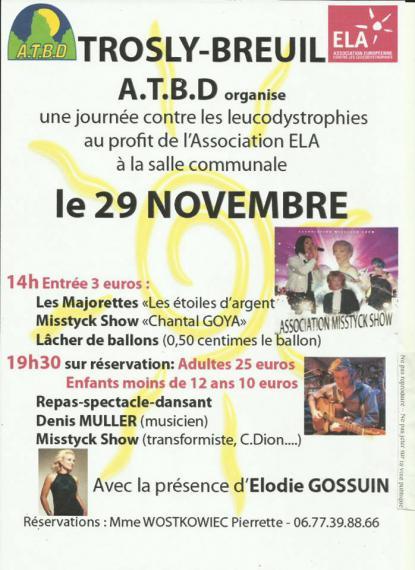 Journée pour l'Association ELA