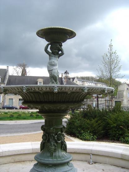 La fontaine et l'Angelot
