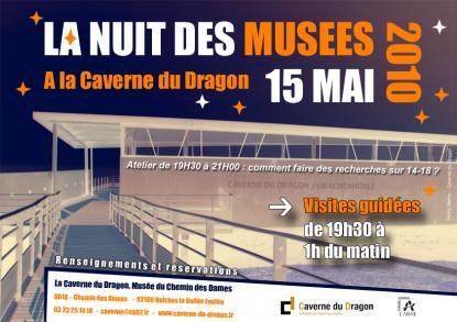 La Nuit des Musées à la Caverne du Dragon