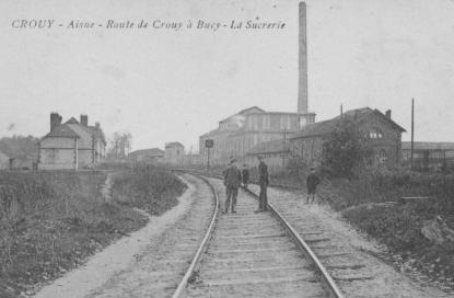 La sucrerie de Bucy en 1933