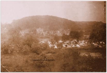 Le camping de Pierrefonds