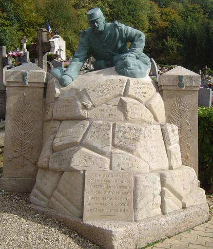 Le monument des 22