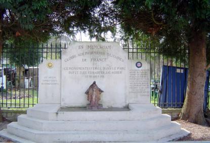 Le monument des infirmières