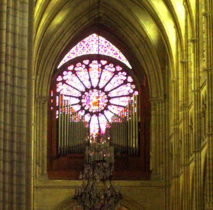 Les grandes orgues.