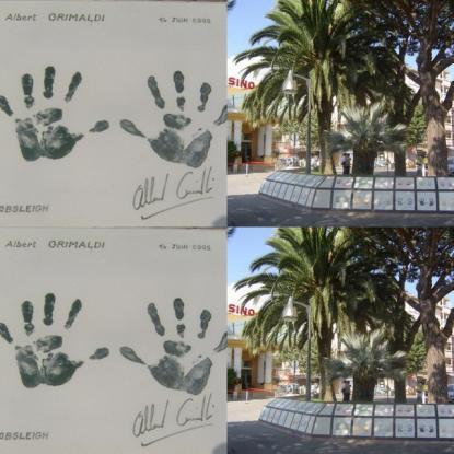 Les mains du Prince Albert II