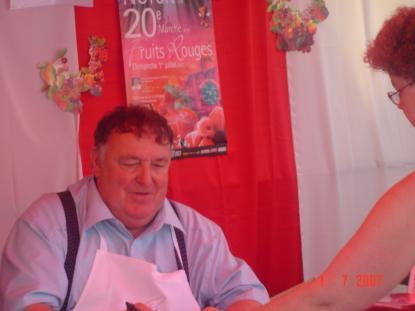 Marché aux fruits rouges 2008