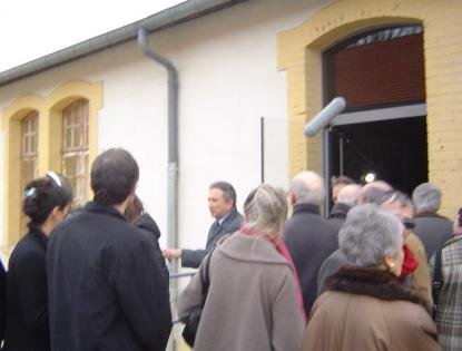 Michel Drucker : visite du camp