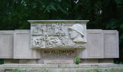 Monumument du général Van Vollenhoven
