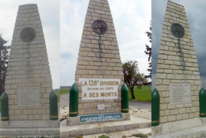 Monument de la 128 ème  Division