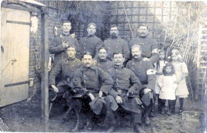 Photo souvenir du 3è regiment   du Génie