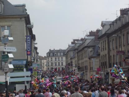 Rue Solférino le 1er mai 2009