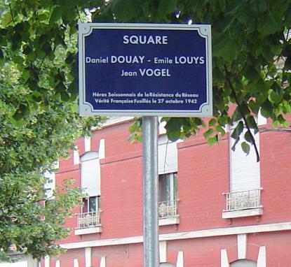 Square Daniel Douay, Emile Louys et Jean Vogel