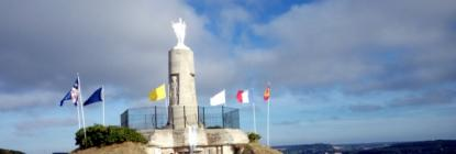 Statue de Notre Dame de la Falaise