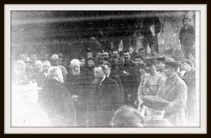 Visite du  Président Raymond  Poincaré