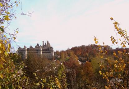 Walt Disney s'inspire du chateau de Pierrefonds